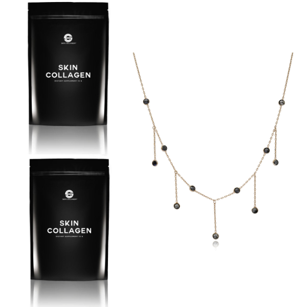 2 Skin Collagen and Necklace_Christmas