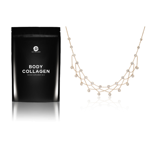 Body Collagen and Necklace