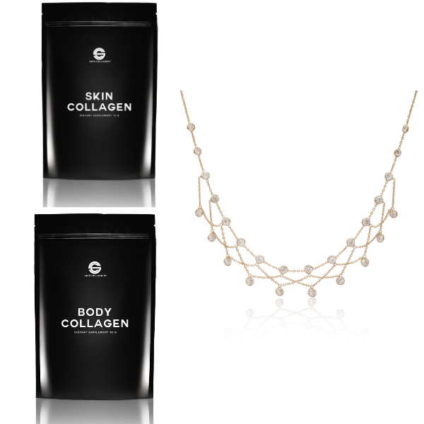 Body and Skin Collagen and Necklace