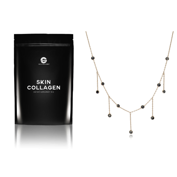 Skin Collagen and Necklace