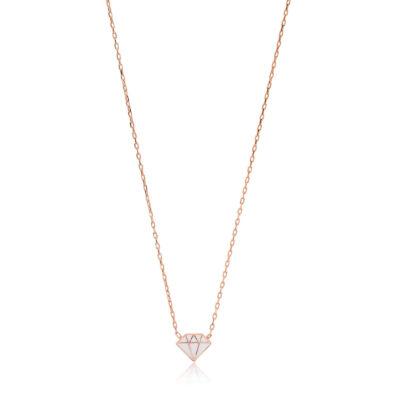 My Exclusive Summer by La Vela Simply diamond сребърно колие by P.S. Minimal