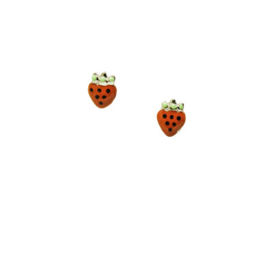Little miss by Lovedbebe Обеци Strawberries