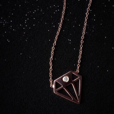 Без Категория Diamond in Diamond колие by P.S. Minimal